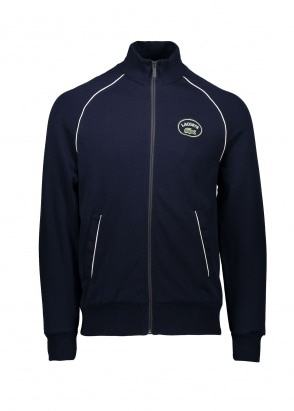 Lacoste Zip Track Top - Navy Blue