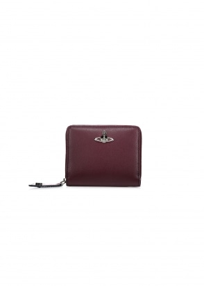 Vivienne Westwood Accessories Zip Wallet Cambridge - Bordeaux