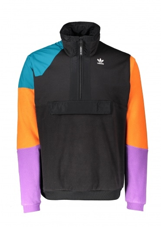 adidas Originals Apparel PT3 Half Zip Jacket - Black