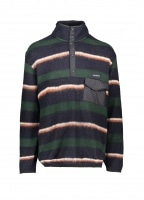 Pullover Sweater - Navy / Green