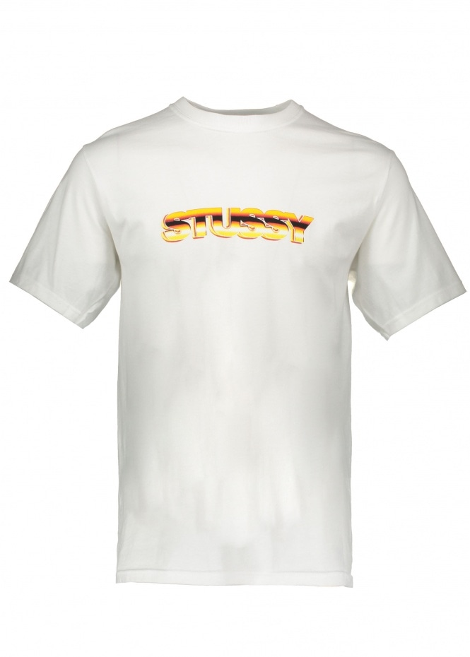 Pure Gold Tee - White