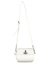 Vivienne Westwood Accessories Rachel Crossbody Bag - White