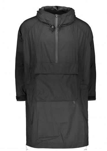 Snow Peak Rain & Wind Resistant Poncho - Black