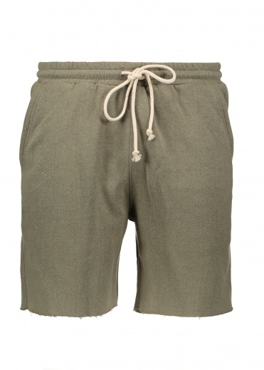 Satta Raw Hemp Shorts - Olive