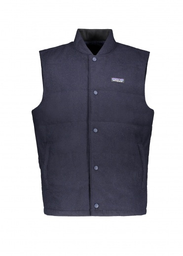 Patagonia Recycled Wool Vest - Classic Navy