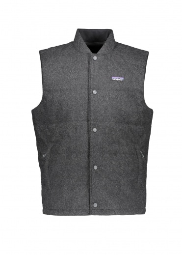 Patagonia Recycled Wool Vest - Forge Grey