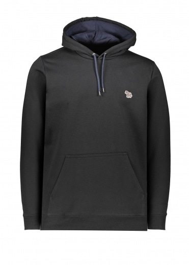 Paul Smith Regular Fit Hoodie - Black