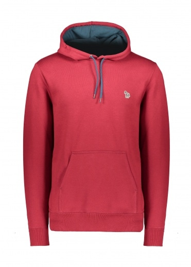 Paul Smith Regular Fit Hoodie - Bordeaux