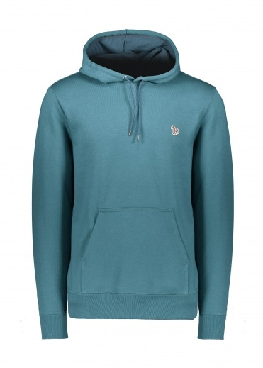 Paul Smith Regular Fit Hoodie - Petrol