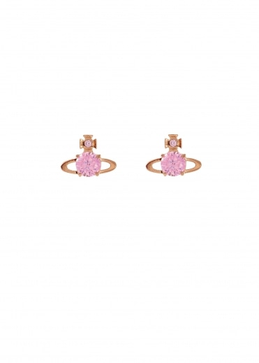 Vivienne Westwood Accessories Reina Earrings - Pink Gold