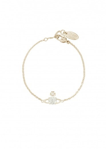 Vivienne Westwood Accessories Reina Small Bracelet - Gold