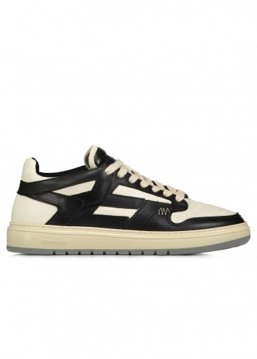 Represent Reptor Low Leather - Black / White