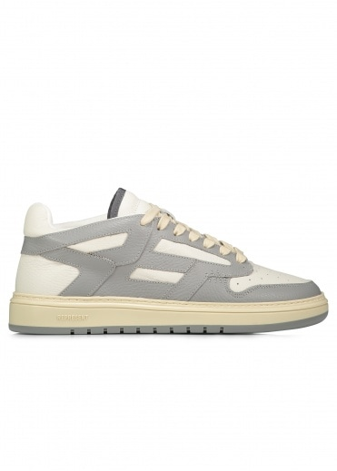 Represent Reptor Low Leather - Grey / White