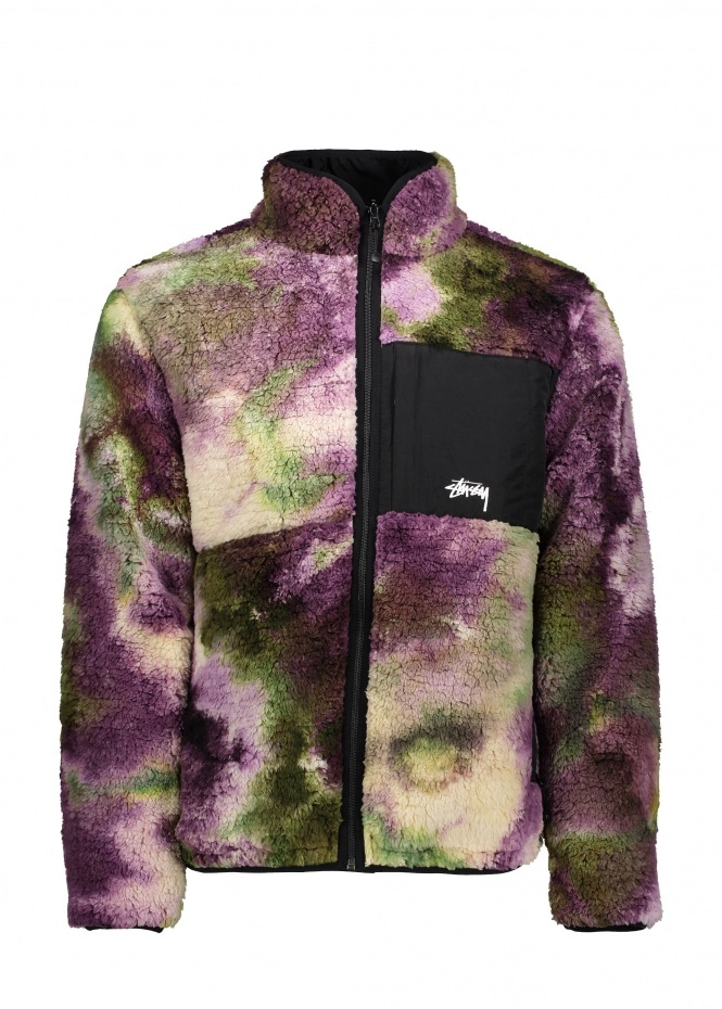 Rev. Micro Fleece Jacket - Tie Dye