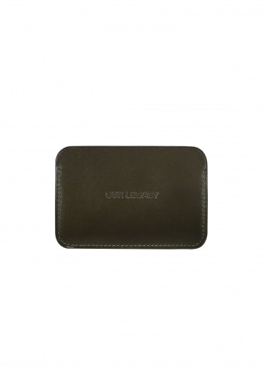 Our Legacy Reverb Card Holder - Military Green