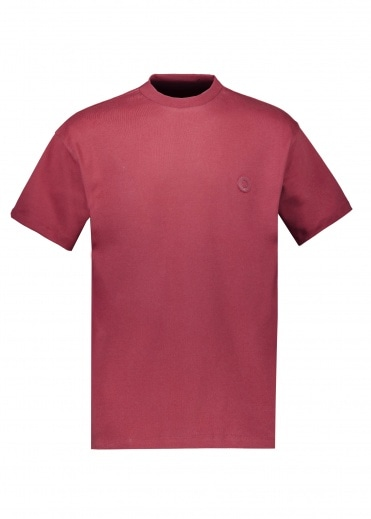 Drôle de Monsieur Ribbed NFPM T-Shirt - Burgundy