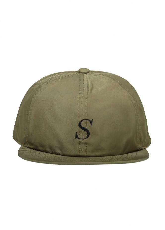 Saturdays NYC Rich Italic Snap Cap - British Khaki