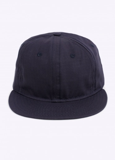Ebbets Field Flannels Rip-Stop 6 Panel - Navy