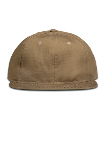 Ebbets Field Flannels Ripstop 6 Panel Strap Back Cap - Sand