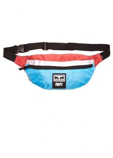 Obey Ripstop Daily Sling Bag - Pink / Blue