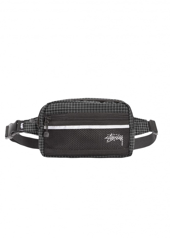 Ripstop Nylon Bag - Black