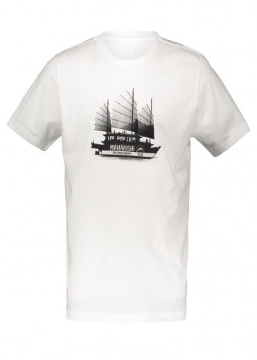 Maharishi River Tour Tee - White