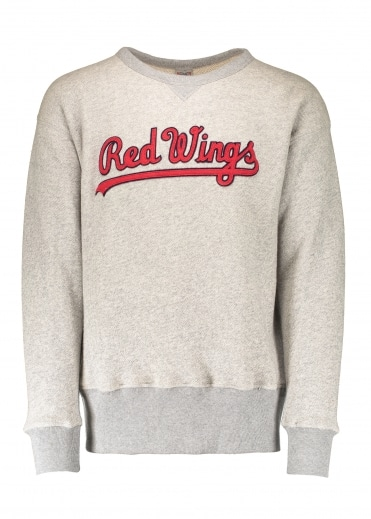 Ebbets Field Flannels Rochester Red 1963 Sweat - Grey