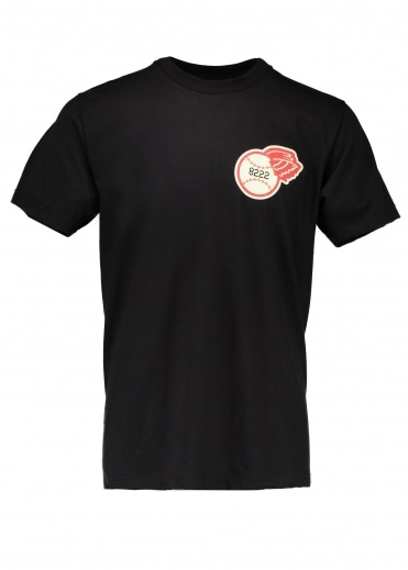 Ebbets Field Flannels Rochester Red Wings SS Tee - Black