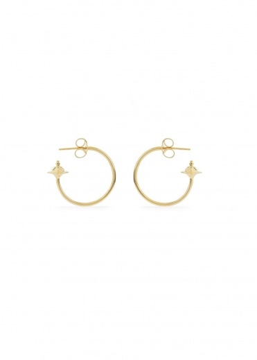 Vivienne Westwood Accessories Rosemary Small Earrings - Gold