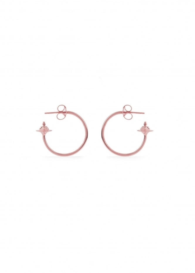Rosemary Small Earrings - Pink Gold