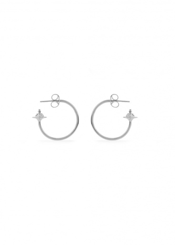Rosemary Small Earrings - Rhodium