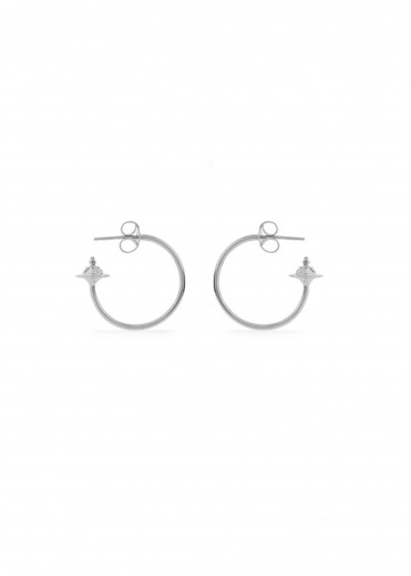 Vivienne Westwood Accessories Rosemary Small Earrings - Rhodium