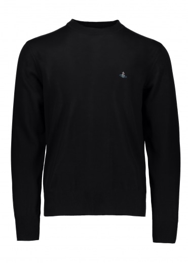Vivienne Westwood Mens Roundneck Knit - Black