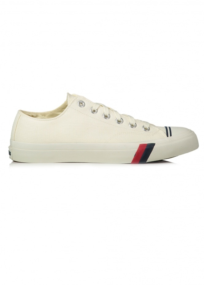 Pro Keds Royal Lo Classic Canvas - White