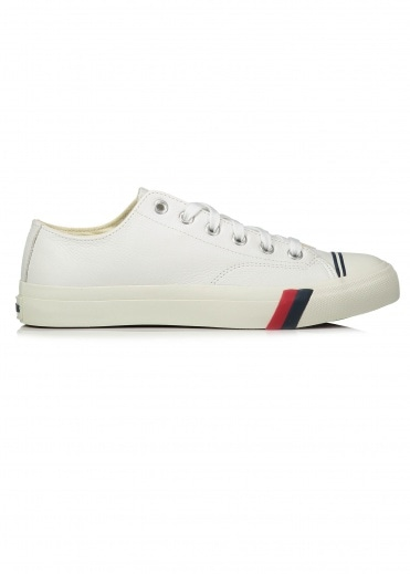 Pro Keds Royal Lo Tumbled Leather - White