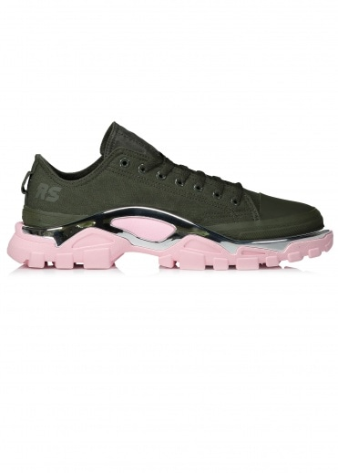 adidas Originals X Raf Simons RS Detroit Runner - Green / Pink