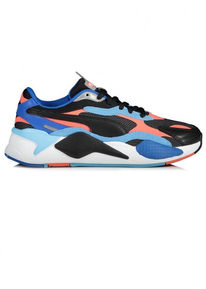 RS-X Level Up - Black / Hot Coral