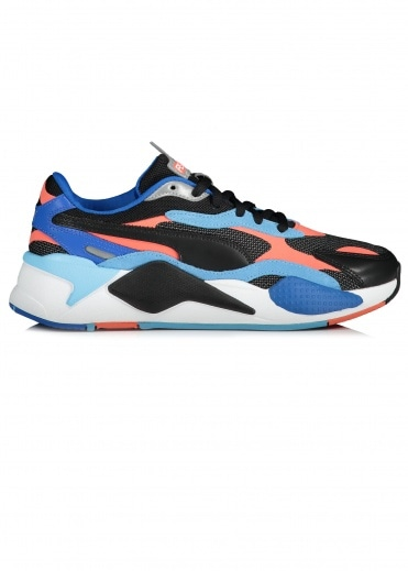 Puma RS-X Level Up - Black / Hot Coral