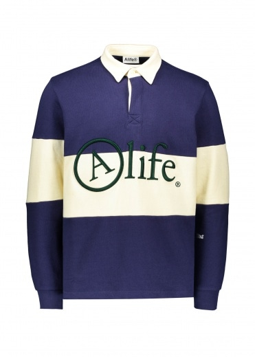 Alife Rugby - Navy / Cream