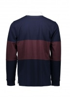 Rugby Shirt - Navy Blue / Vertigo