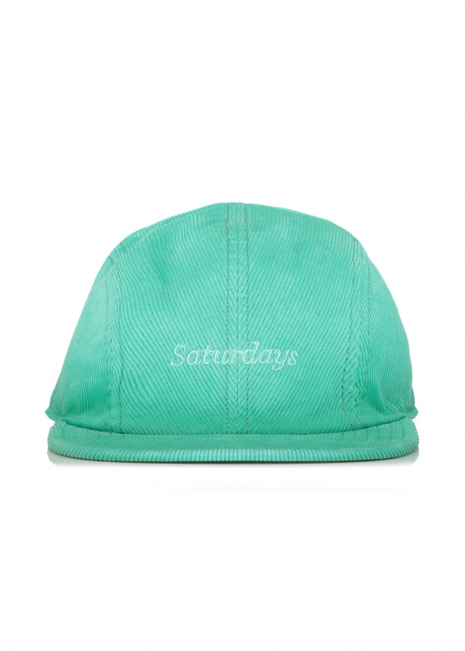 Saturdays NYC Russell Cord Hat - Seafoam Green