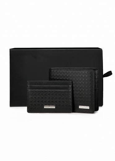 Hugo Boss S Card 8 CC 001 - Black