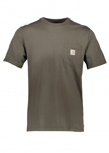 Carhartt S/S Pocket Tee - Cypress