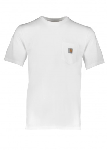 Carhartt S/S Pocket Tee - White