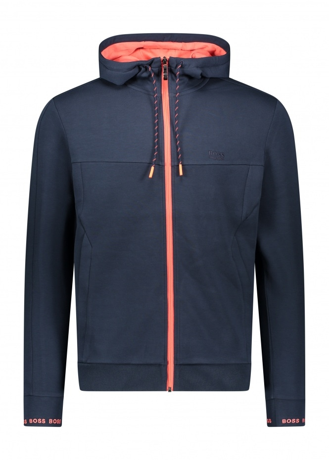 Saggy 1 Hooded Track Top - Navy