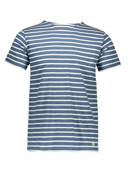 Armor Lux Sailor Shirt SS - Blue Fjord/Natural