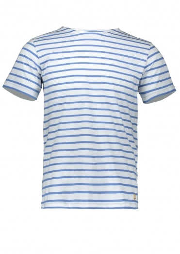 Armor Lux Sailor Shirt SS - Milk / Blue