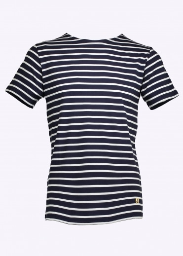 Armor Lux Sailor Shirt SS - Navy / White