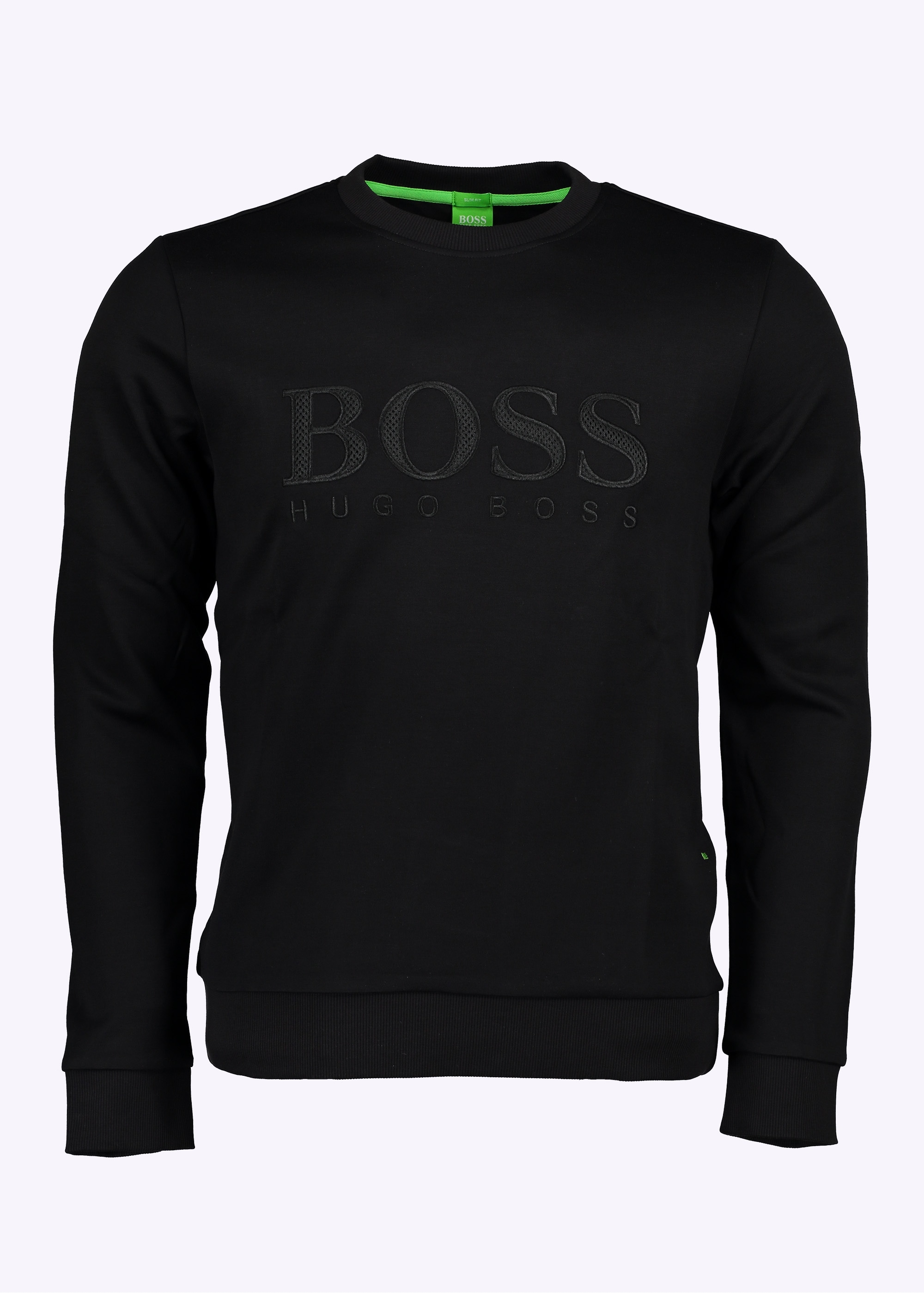 hugo boss salbo sweater black hugo boss from triads uk. Black Bedroom Furniture Sets. Home Design Ideas