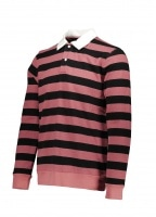 Saturdays NYC Sanders Stripe LS Tee - Light Plum